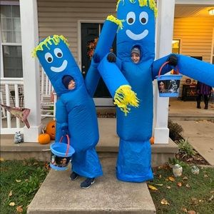 Inflatable car man costume (one size kids)